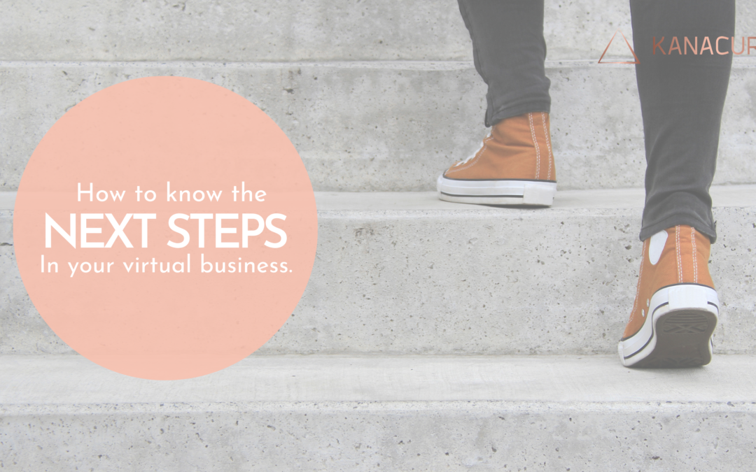 """How to Know the """"Next Step"""" For Your Virtual Practice."""